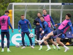 England are preparing for Tuesday's match with the Czech Republic (Nick Potts/PA).