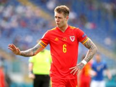 Joe Rodon says Wales are 'excited' by their Euro 2020 knockout clash against Denmark in Amsterdam (Marco Iacobucci/PA)
