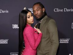 Cardi B shared new pictures of her growing baby bump and said her second pregnancy has been 'blissful' (Mark Von Holden/Invision/AP, File)