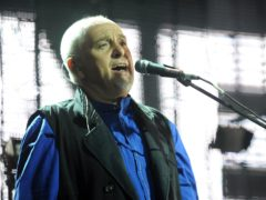 Peter Gabriel on stage at Womad (Zak Hussein/PA)