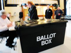 A ballot box (Rui Vieira/PA)