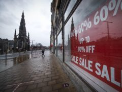 Scots are being asked their views on whether larger stores should be required to close on January 1 (Jane Barlow/PA)