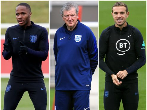 Raheem Sterling, Roy Hodgson and Jordan Henderson have been recognised in the Queen's Birthday Honours List (Martin Rickett/Mike Egerton/Mark Kerton/PA)
