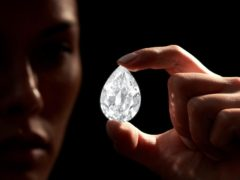 Sotheby's has announced it will accept cryptocurrency as payment for a rare 101-carat diamond expected to fetch up to £10.7 million (Sotheby's/PA)