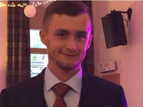 Motorcyclist Liam Lacon died after the collision near Plean (handout)