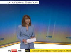 Kay Burley has returned to work after being suspended for six months for breaking Covid-19 rules (Sky News)