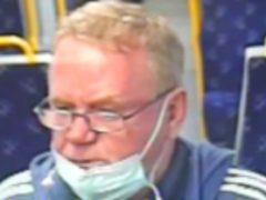 British Transport Police have appealed for help in tracing the man (British Transport Police/PA)