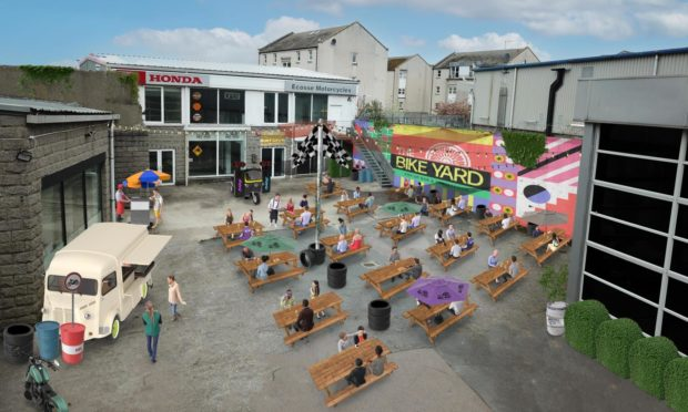 EXCLUSIVE: Aberdeen club promoters launch The Bike Yard, a new street food park at former McGowan Motorcycles venue