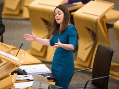 Finance and Economy Secretary Kate Forbes announced £12 million additional cash for areas held in Level 2 restrictions (Robert Perry/PA)