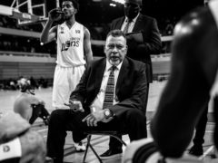 London Lions head coach Vince Macaulay feels the British Basketball League club has a positive inclusion approach for its supporters (Carol Moir/London Lions Handout/PA)