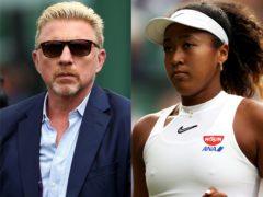 Boris Becker fears for Naomi Osaka's tennis career (Steven Paston/PA)