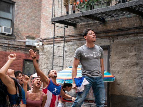 Anthony Ramos in In The Heights (Warner Bros/PA)