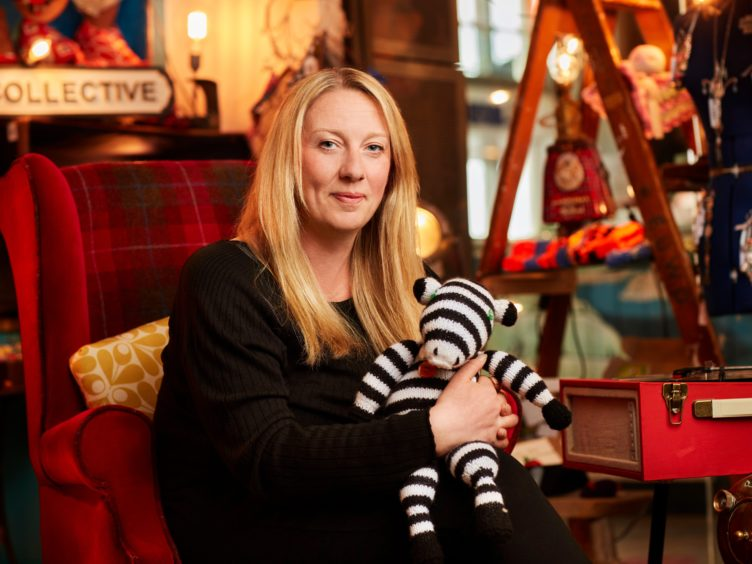 Sara Thomson, founder of The Leith Collective, is one of the first 13 One Step Green ambassadors (Scotland Office/PA)