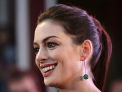 Anne Hathaway (Yui Mok/PA)