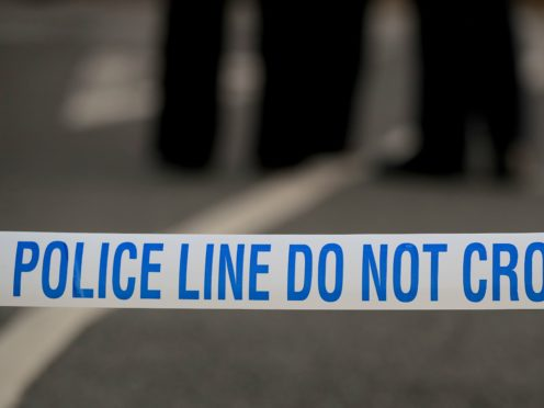 A man in his 20s was also injured in the incident, police said (Peter Byrne/PA)