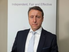 Stephen Herron, Northern Ireland's Director of Public Prosecutions, met the families to inform them of the decision (PA)