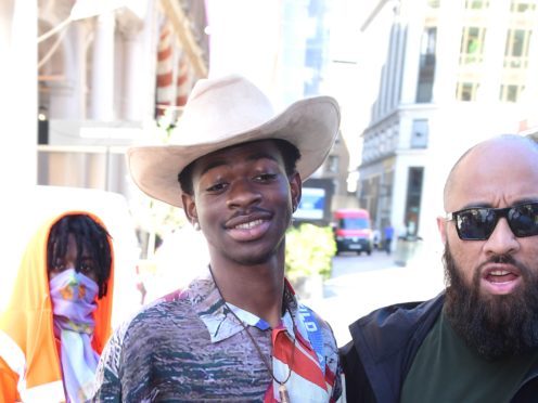 Lil Nas X breaks out of jail in the provocative music video for his latest single Industry Baby (Ian West/PA)