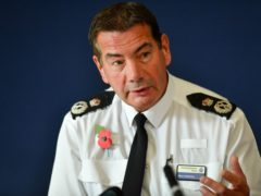 The Chief Constable of Northamptonshire Police, Nick Adderley, said the pay freeze is an 'insult' to officers (PA)
