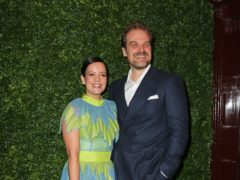 Lily Allen and David Harbour (Isabel Infantes/PA)