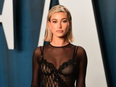 Hailey Bieber said ballet has inspired her in her modelling career (Ian West/PA)