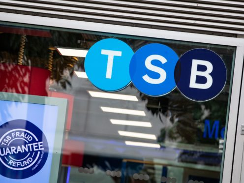 TSB slashed costs last year (Aaron Chown/PA)