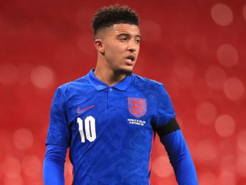 Jadon Sancho has signed for Manchester United (Mike Egerton/PA)