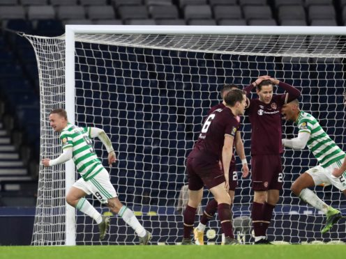 Hearts and Celtic will meet again in the cup (Andrew Milligan/PA)