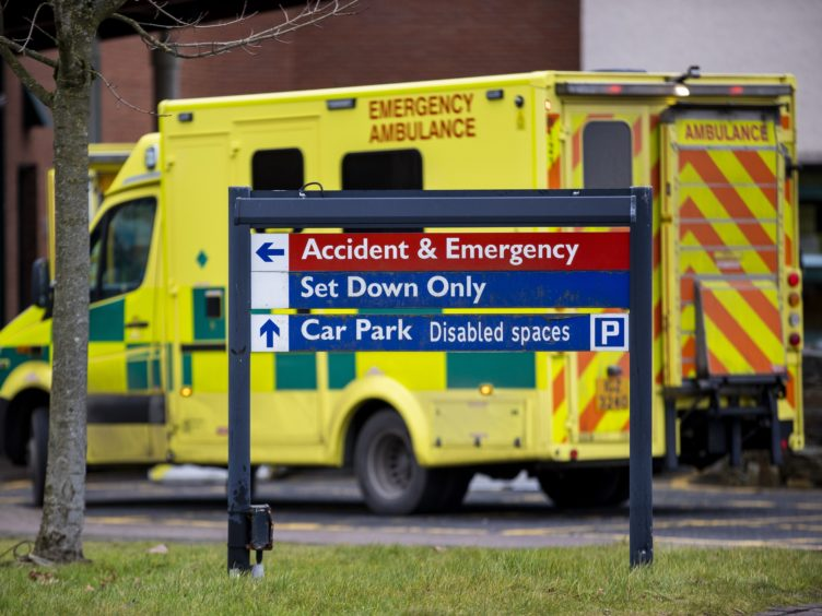 Accident and emergency waiting times are 'spiralling out of control', Scotland's opposition parties have warned (Liam McBurney/PA)