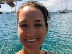Briton Sarm Heslop was last seen on board the catamaran Siren Song off the coast of St John on March 7 (US Virgin Islands Police Department/PA)