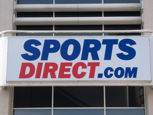 Sports Direct owner Frasers Group will reveal its trading figures for the past year on Thursday (Joe Giddens/PA)