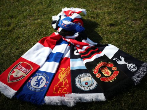 Six English clubs planned to join the European Super League in April (Yui Mok/PA)