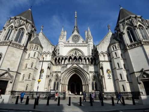 The deferred prosecution agreement was agreed by Justice Eadie at the Royal Courts of Justice (Andrew Matthews/PA)