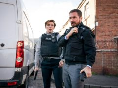 Vicky McClure as DI Kate Fleming and Martin Compston as DI Steve Arnott in Line of Duty (Steffan Hill/BBC/PA)