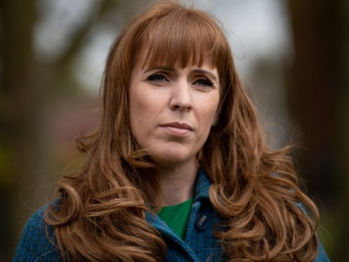 Labour deputy leader Angela Rayner defended asking party workers to volunteer for redundancy as she launched an employment rights charter (Jacob King/PA)