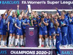 Chelsea retained the Women's Super League title last term (John Walton/PA)