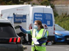 The Government has expanded its workplace testing programme to an initial 200 testing sites for frontline emergency services personnel (Liam McBurney/PA)