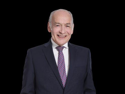 GB News presenter Alastair Stewart (Gideon Marshall/GB News/PA)