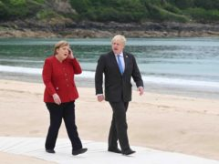 The two leaders last met at the G7 summit in Cornwall last month (Leon Neal/PA)