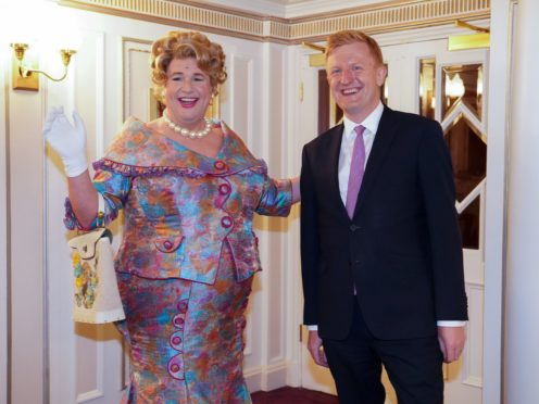 Culture Secretary Oliver Dowden (right) had praised a production of Hairspray, starring Michael Ball (left). The musical has paused shows due to a positive Covid-19 test (Kirsty O'Connor/PA)