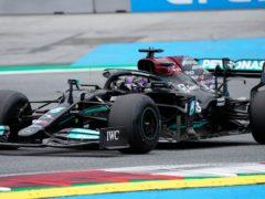 Lewis Hamilton topped second practice (AP Photo/Darko Bandic)