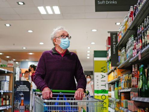 Retailers saw sales rebound in June as football fans enjoying the Euros bought more food and drink (Victoria Jones/PA)