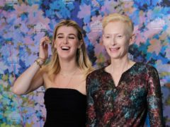 Tilda Swinton was joined by her daughter Honor Swinton Byrne as they promoted their latest movie at the Cannes Film Festival (Vianney Le Caer/Invision/AP)