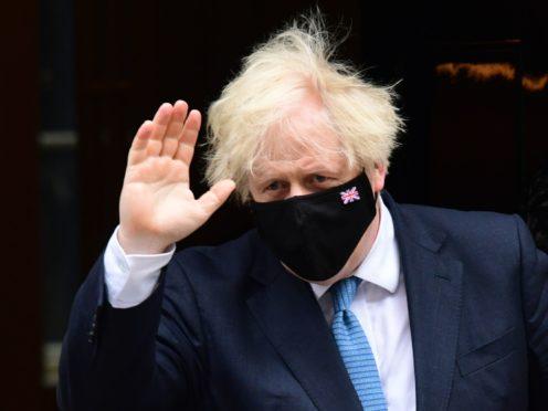 Prime Minister Boris Johnson (Ian West/PA)