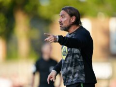 Daniel Farke's Norwich saw their pre-season fixture at Coventry called off due to positive Covid-19 tests (Joe Giddens/PA)