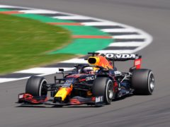 Max Verstappen finished fastest in the first action of the weekend (Tim Goode/PA)