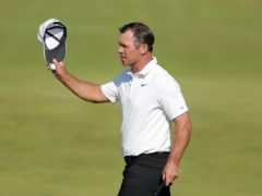 Paul Casey was the pick of the Britons on the opening day of the men's Olympic golf competition (Richard Sellers/PA)