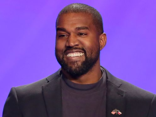 Kanye West has been living inside an Atlanta stadium while working on his new album (Michael Wyke/AP)