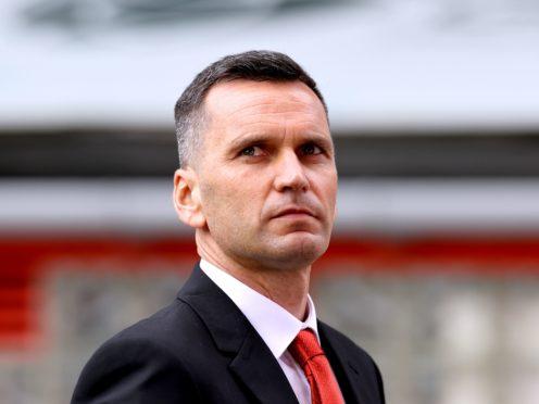 Aberdeen manager Stephen Glass (Steve Welsh/PA)