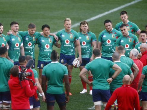 The Lions are on the brink of a first series victory over South Africa since 1997 (Steve Haag/PA)