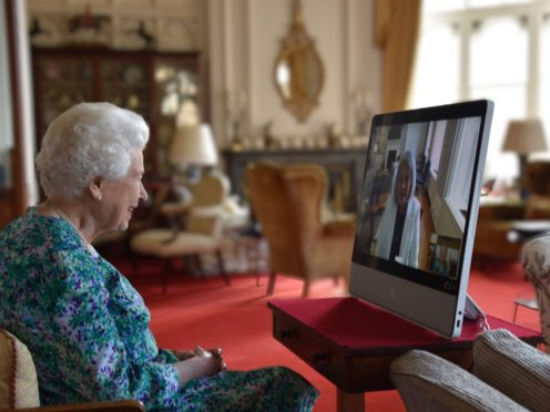 The Queen holds a virtual audience with Mary Simon (Buckingham Palace/PA)